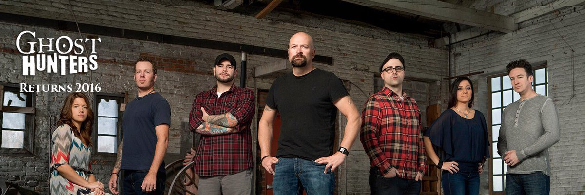 #GhostHunters returns this #Fall #2016 @ghosthunters https://t.co/ivdYcc9WZY