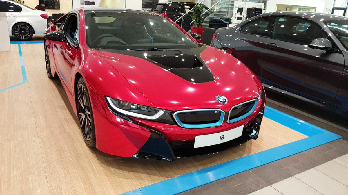 Sytner Bmw On Twitter Check Out This Stunning Chrome Red Bmw I8