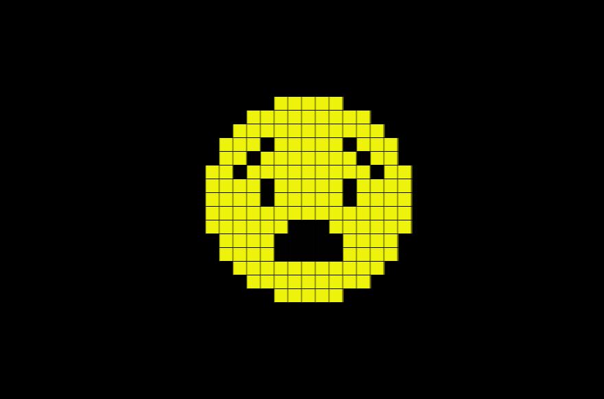 Facile Pixel Art Emoji