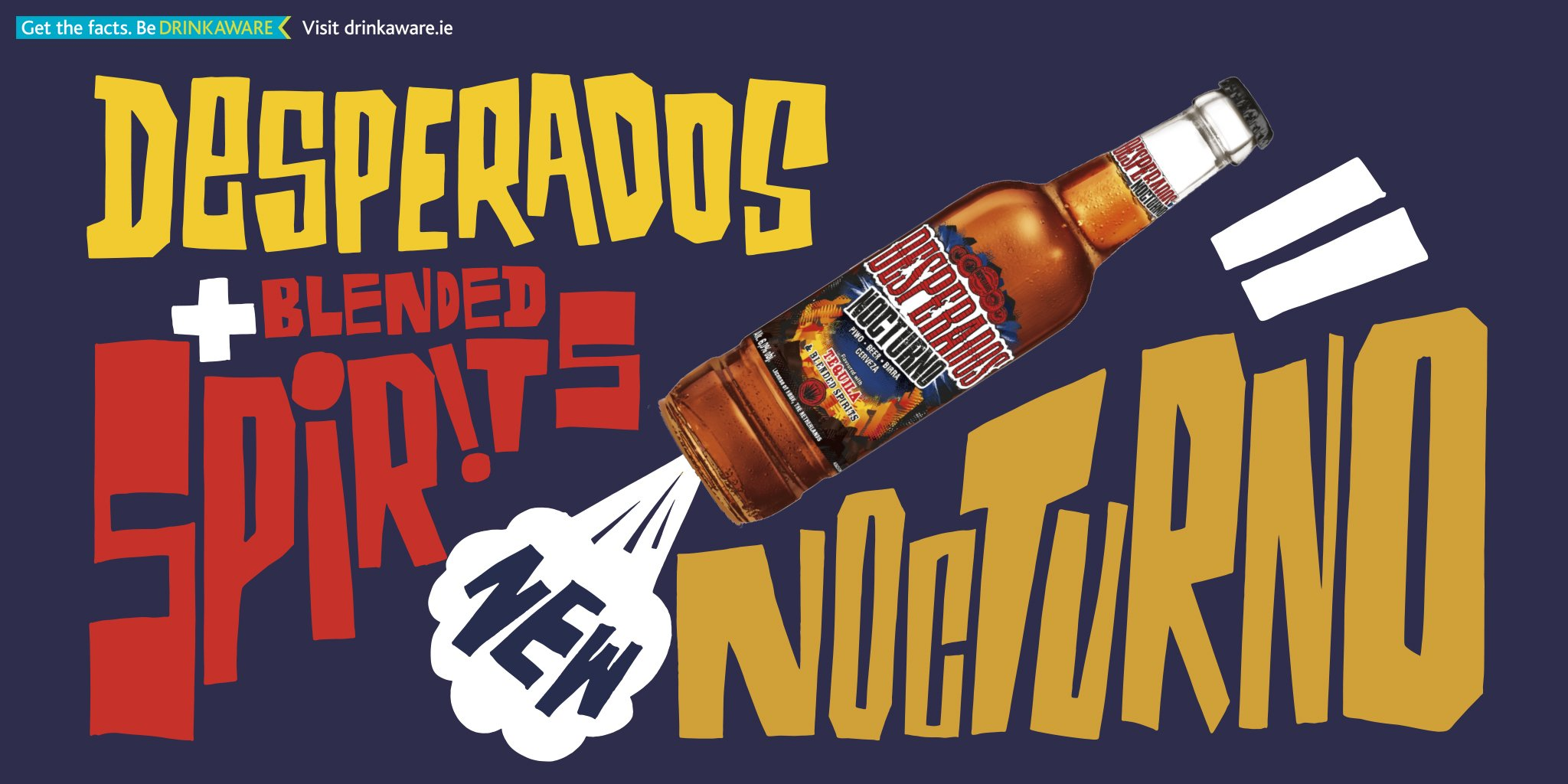 Desperados Ireland On Twitter New Desperados Nocturno Tequila And Blended Spirits Flavoured Beer Is Out Now Getabsurd