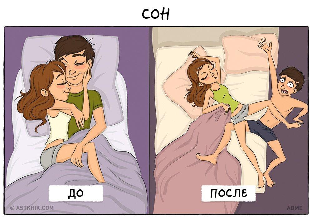 Смешные картинки с приколами об отношениях, год детском