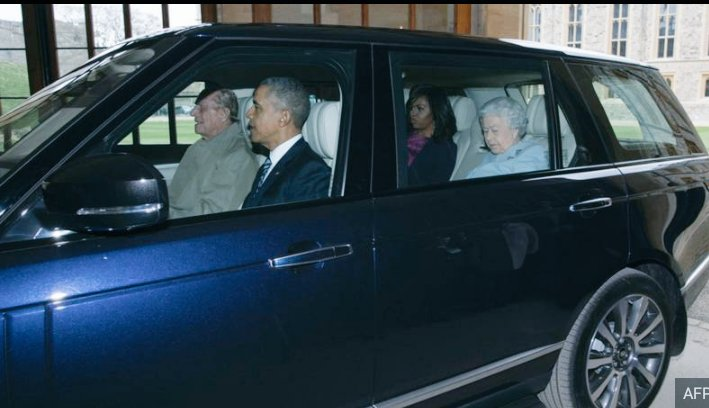 Obama's next job, chauffeur?
