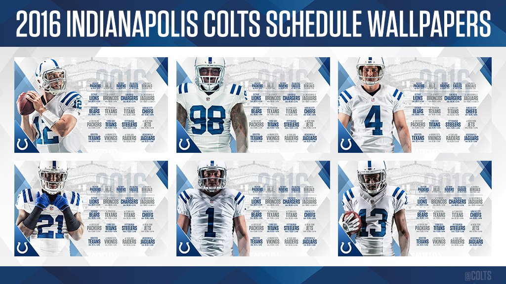 Indianapolis Colts On Twitter Time To Update Those Desktop