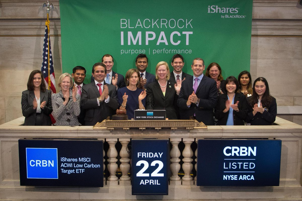 Thanks @NYSE for having us at #closingbell to celebrate #EarthDay!