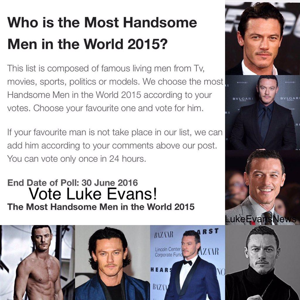 Luke Evans Man Of The World