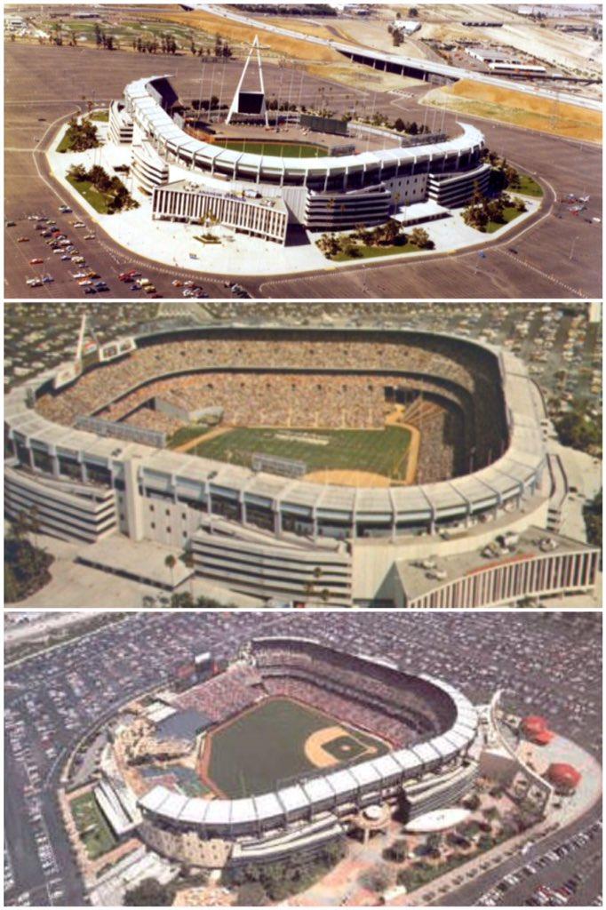 Mlbcathedrals On Twitter Anaheimangel Stadium Before Rams