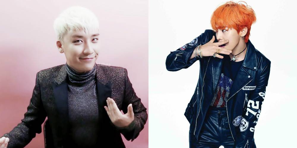 Seungri G Dragon Bang Seungri Reveals Dye Hair Dragon Allkpop Scoopnest