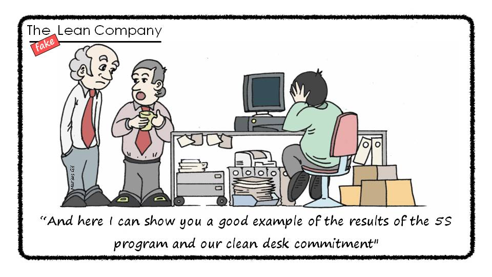 A Good Example Of Our 5s Program And Clean Desk Commitment Fakelean Leanstartup 5 Twitter S5vt9hxflv