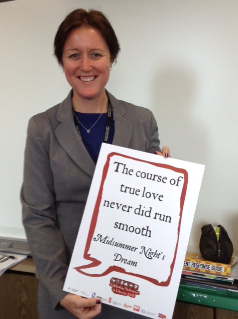 @KtWaterhouse – Head of Insight, Planning & Performance @StaffordshireCC celebrates #Shakespeare16 @StaffsLibraries https://t.co/VRdlPYMY2W