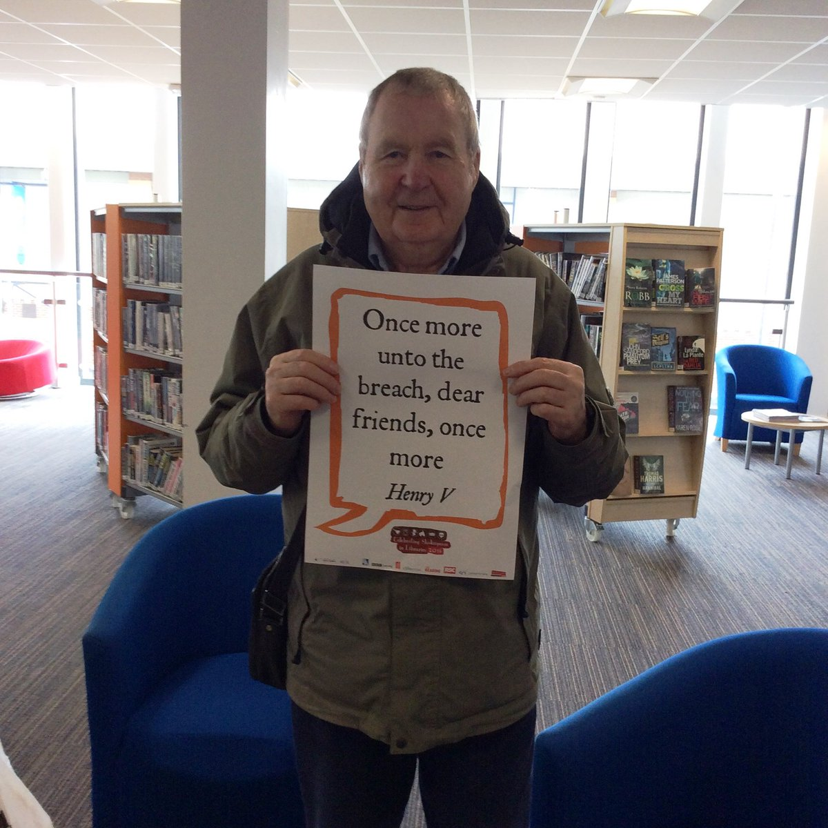 #Shakespeare16 Washington Town Centre Library salutes the Bard https://t.co/QBp1IRPAcb