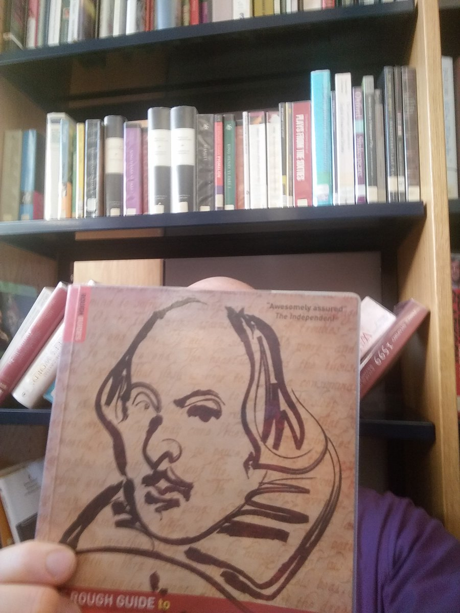 """What (time) has scanted men in hair, he hath given them in wit."" #Shakespeareselfie #Shakespeare16 @readingagency https://t.co/upDZTiSQEa"