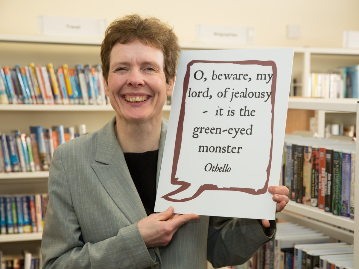 Here's my quote for my Shakespeare selfie at Southam Library, Warwickshire #Shakespeare16 https://t.co/92vr8YeXne