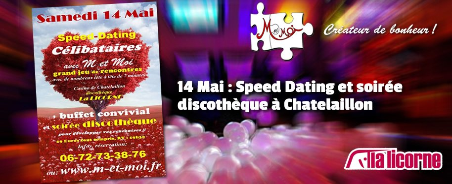 soirée Speed Dating 74