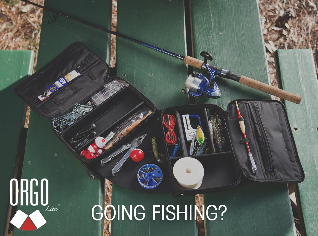Take your ORGO #fishing this weekend so you can focus on the #catch! #EverythingOrgo #Fishing #TackleBag #Tackle<br>http://pic.twitter.com/FkHfKabqKx