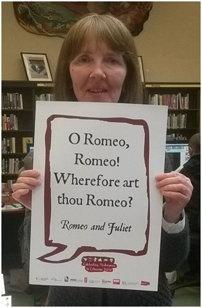 Susan works at #Burmley and has shared this famous quote from Romeo and Juliet #Shakespeare16 https://t.co/yKq6a6h5XV