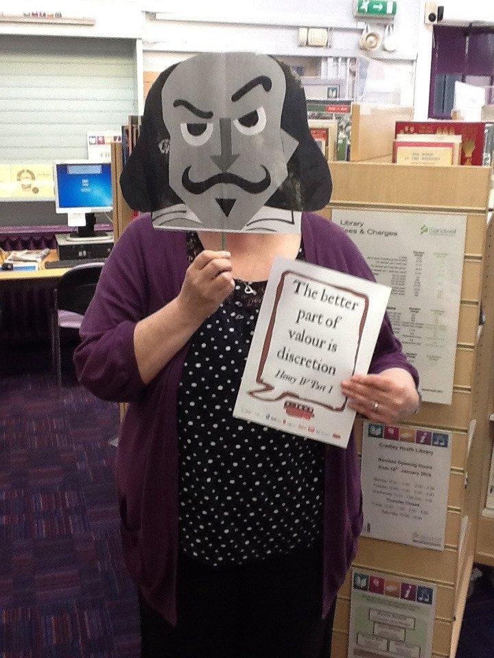 Cradley Heath Library #shakespeare16 https://t.co/9tNSXPeDJM