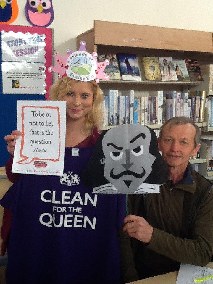 Oakham Library #shakespeare16 #sandwelllibs https://t.co/lLlCB75VSe