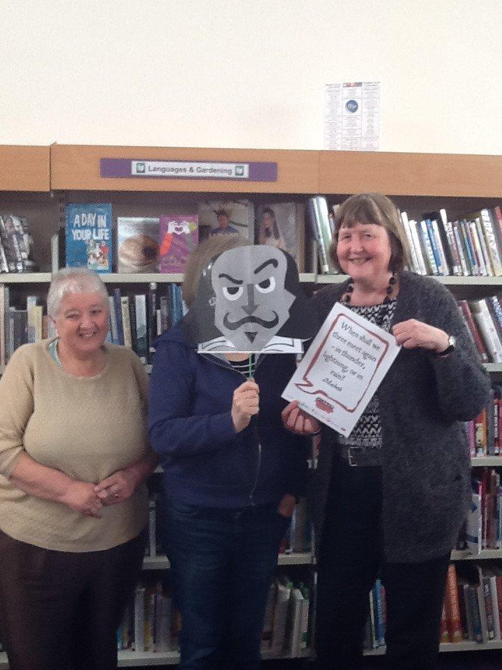 Oakham Library #shakespeare16 https://t.co/j9L4VPvuMi