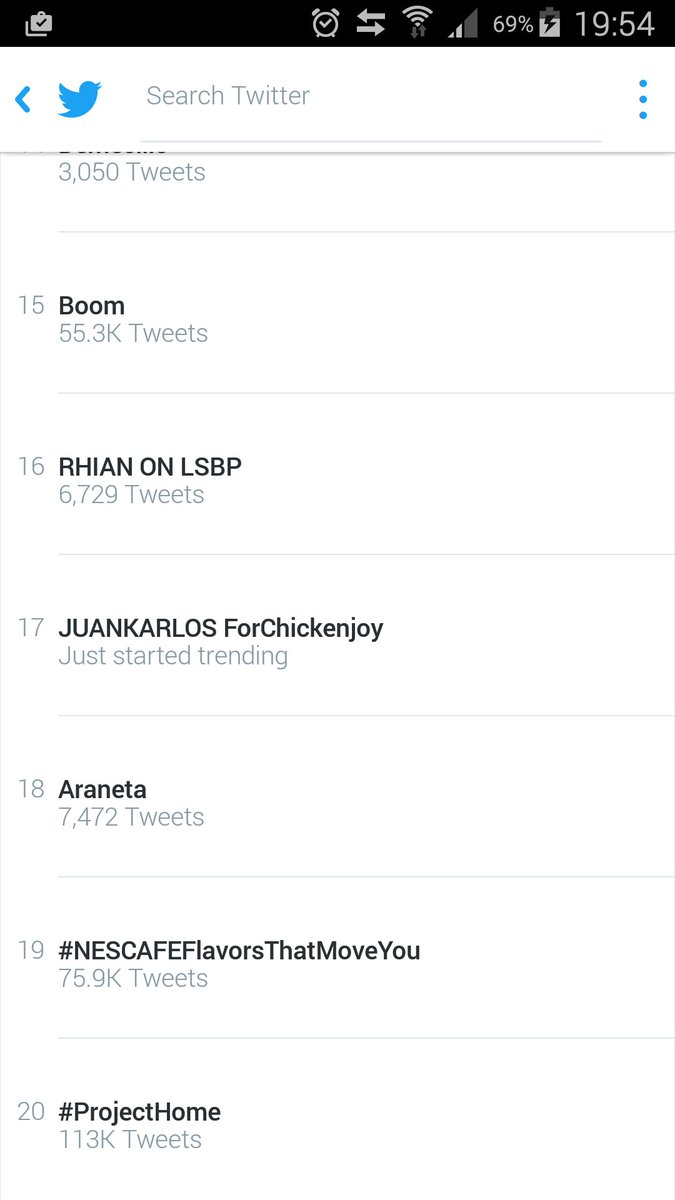 And we're Trending @whianwamos RHIAN ON LSBP tweet pa more :) https://t.co/xRaLPpgGBn