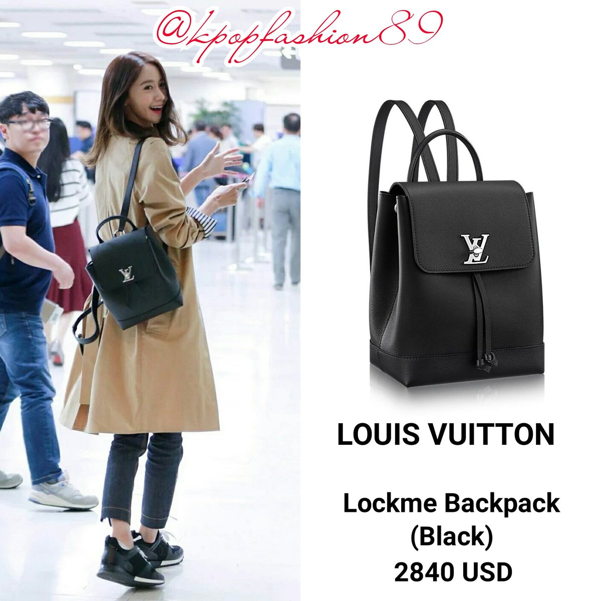 Louis Vuitton Sold Out New Black Lockme Backpack tXTUFdme