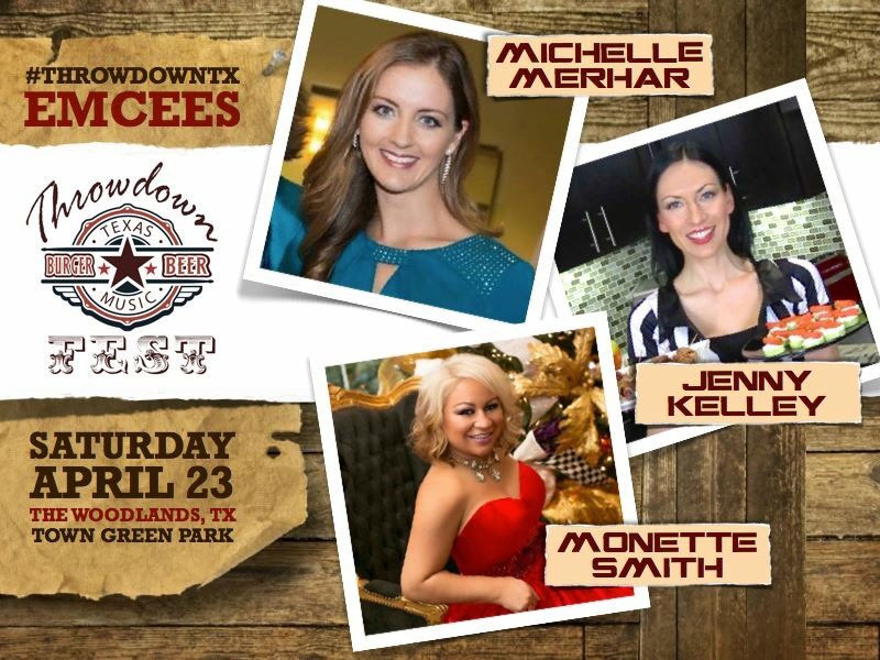 Can't wait for Throwdown Texas Burger & Beer Fest today! I'm the Burger Competition emcee at 2:30