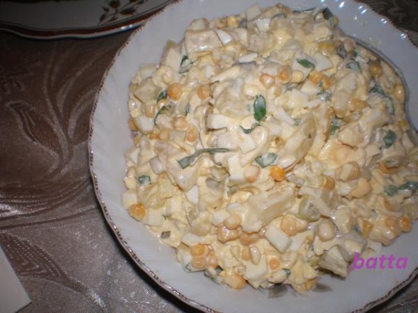 Салат ананасовый рецепт