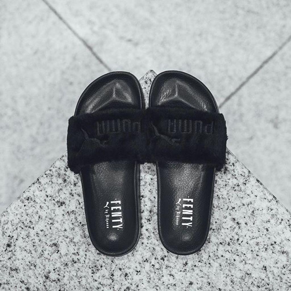 foot locker puma slides