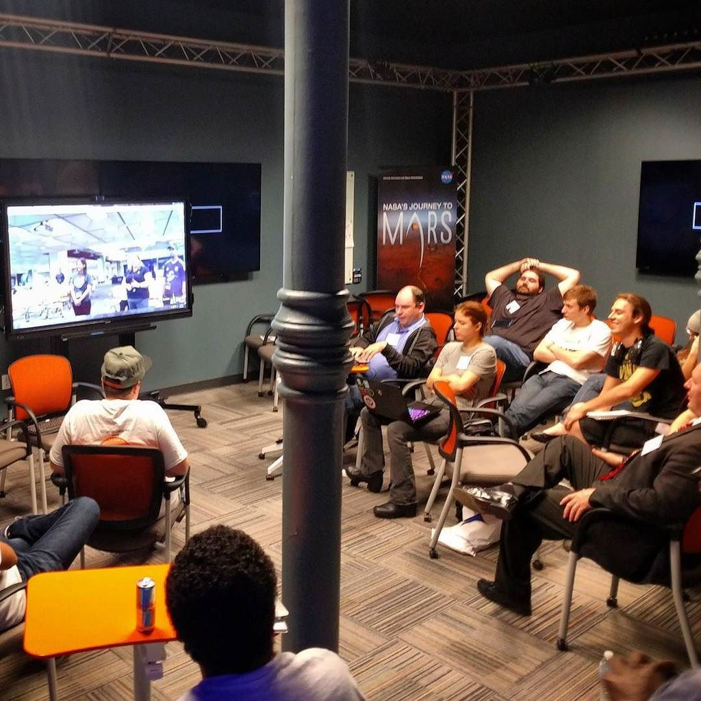 Google Hangout with Orlando site #SpaceAppsTampa #hackathon https://t.co/FlJ4jOuWUE https://t.co/7xkdyTTN21