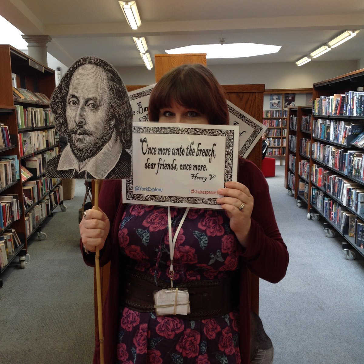 #Shakespeare16 #Shakespeare400 #WBN16 #selfie https://t.co/EUVxIuEAh9