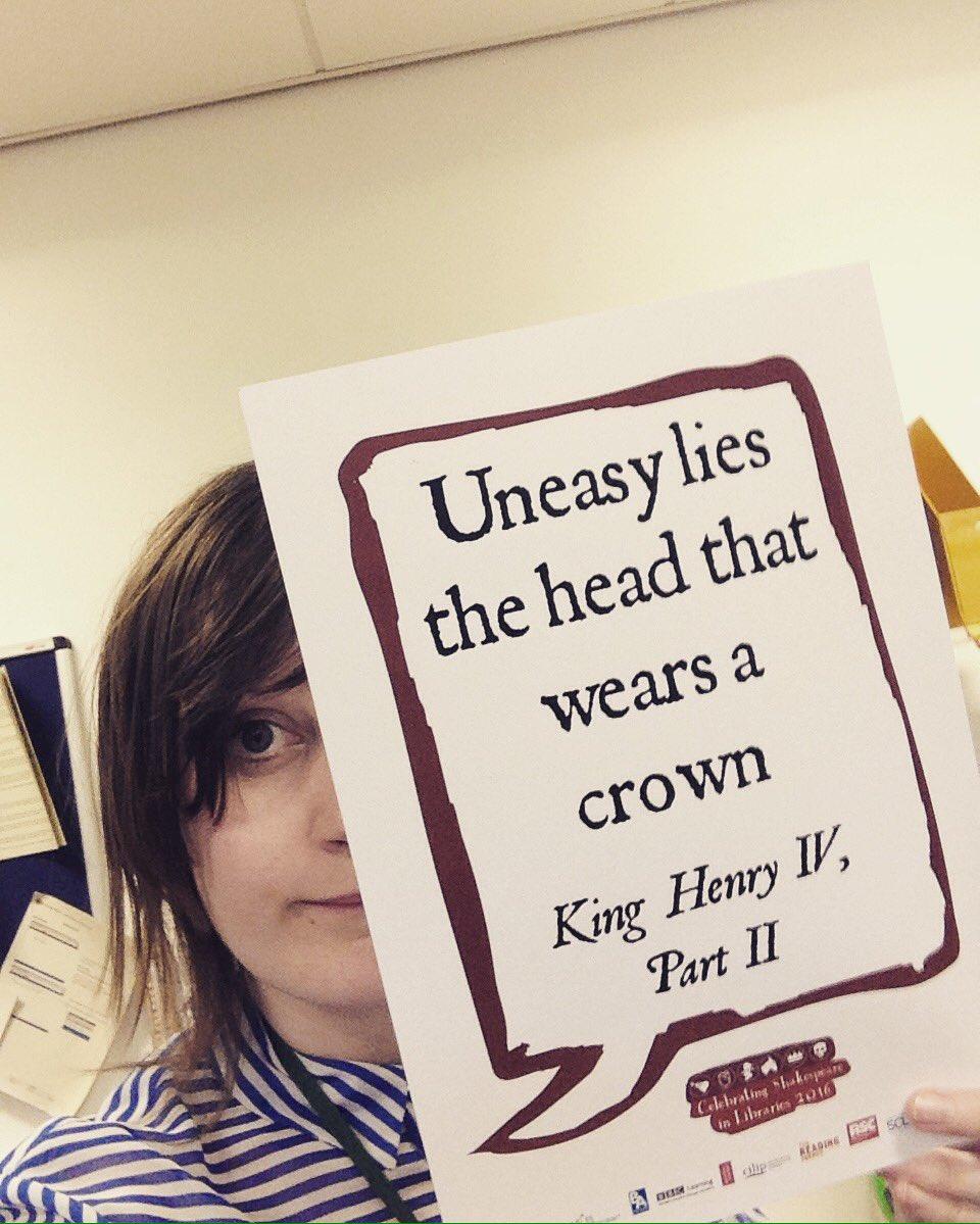 @kinglibheritage #Shakespeare16 #Shakespeare400 https://t.co/ETdzox3GWI