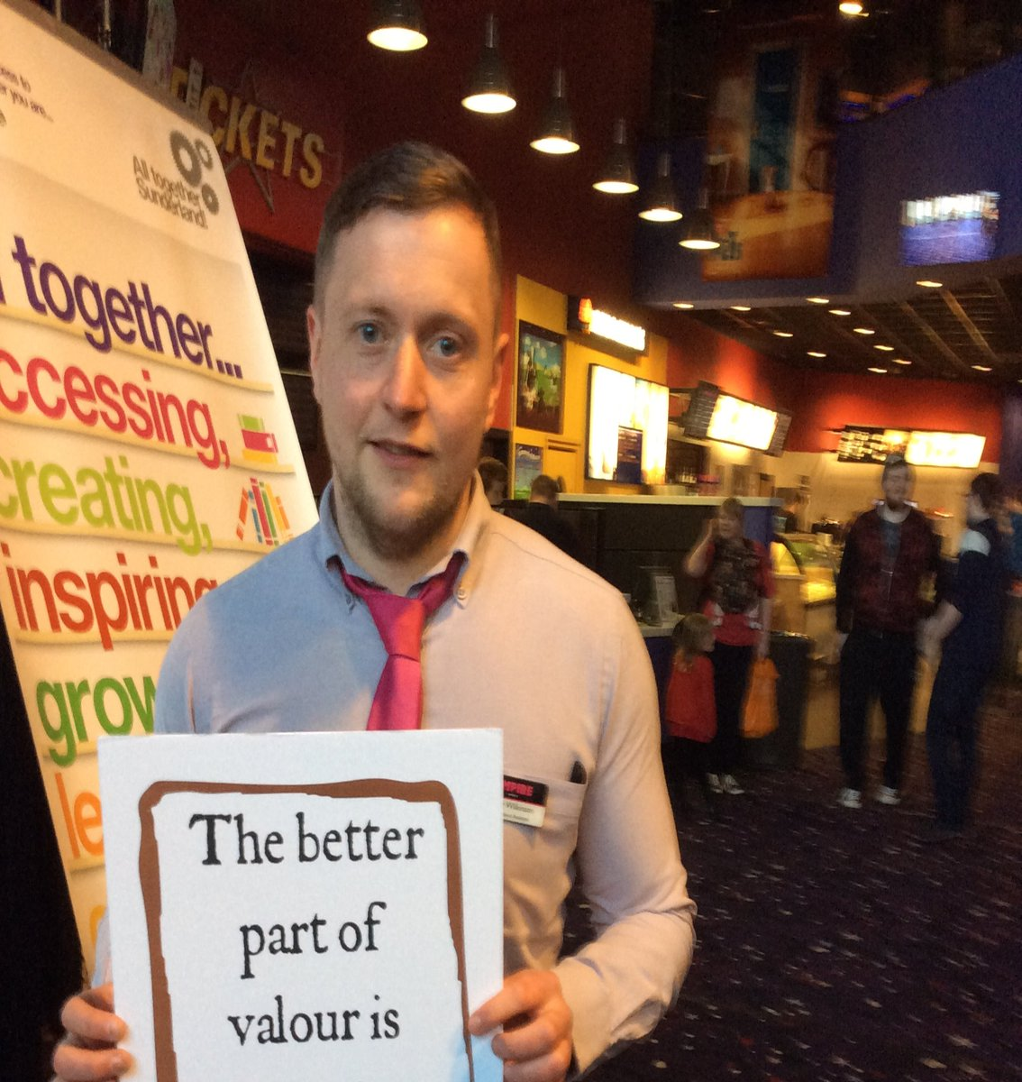 #Shakespeare16 Thanks to Craig and Empire Cinema for your welcome today https://t.co/lyfACVF0j6