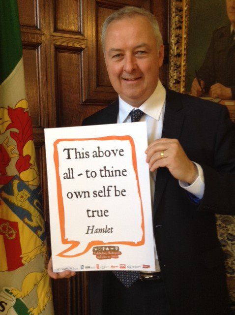@benpolitics  – County Councillor & Cabinet Member @StaffordshireCC celebrates #shakespeare16 @StaffsLibraries https://t.co/hwF8Z7viIW