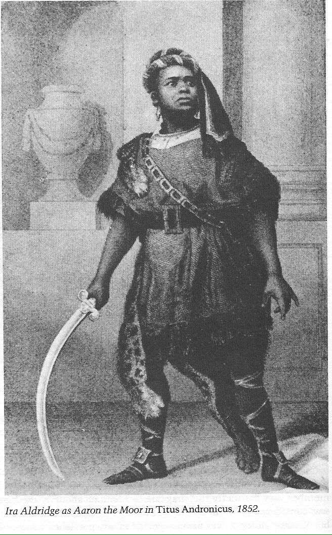 MT @ArchivesHackney: #BlackActor #IraAldridge played Aaron in Titus #Hoxton Britannia Theatre in 1852 #Shakespeare16 https://t.co/KuZ4F6BDiC