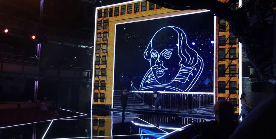 """Don't forget to watch """"Shakespeare Live! From the RSC"""" tonight on BBC2 and in cinemas at 8.30pm https://t.co/yTBsoV8UkX"""