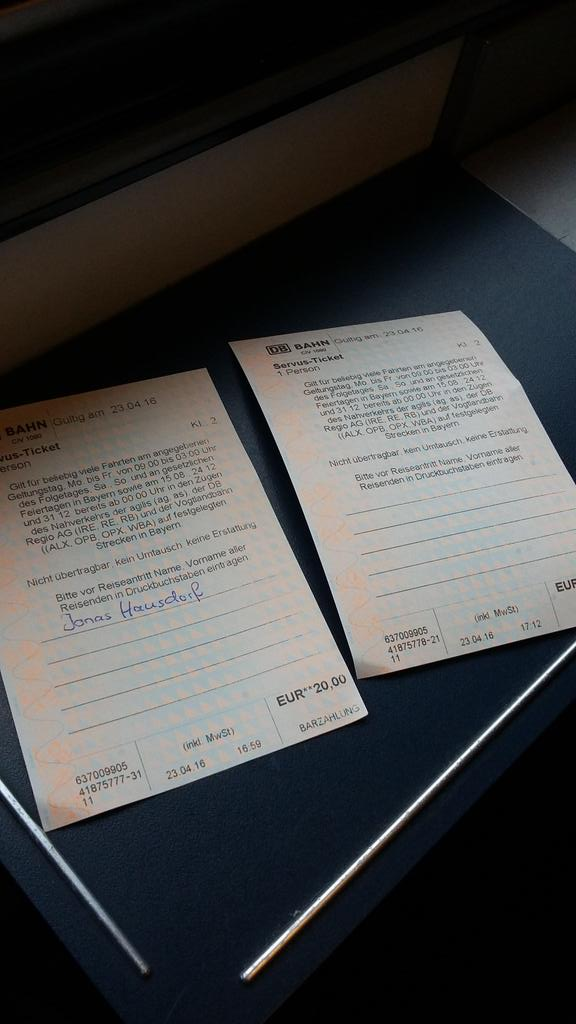servus ticket