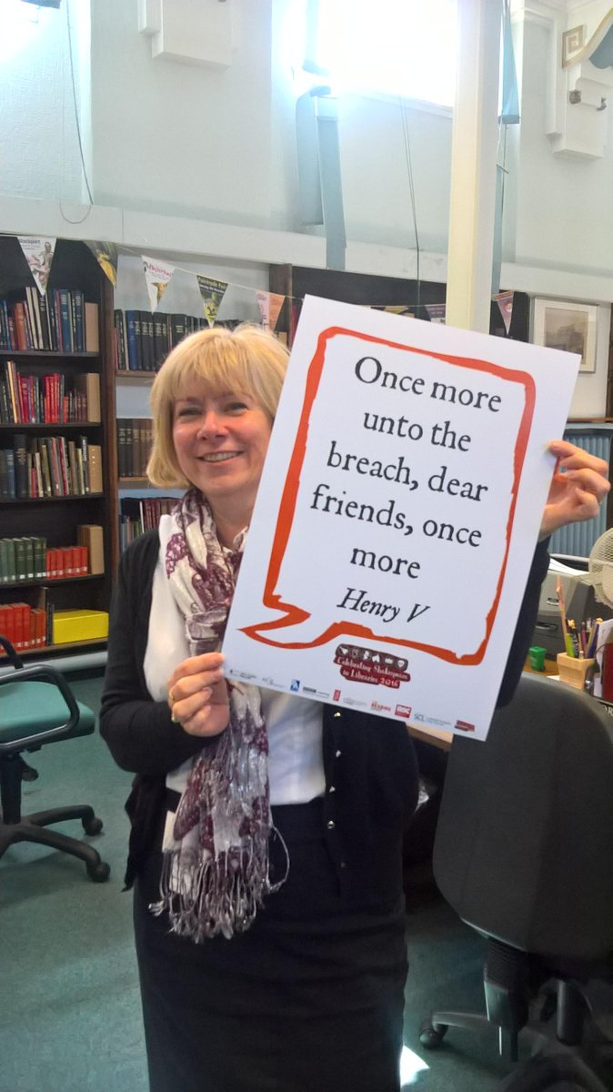 Today is Shakespeare Selfie day - print a quote, take a selfie, share it! #Shakespeare16 https://t.co/5FxvUzq3Co https://t.co/ZQdAtYXDih