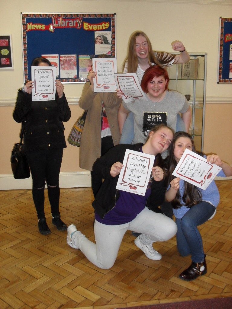 Our @ReadingHackers love a bit of culture  #shakespeare16 https://t.co/oX7DXY91ee