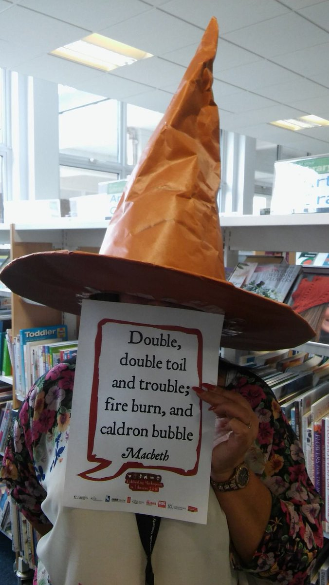 Double double toil and trouble #Shakespeare16 https://t.co/C2MmcuRf98
