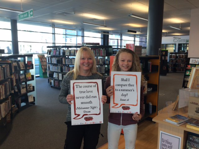 The fab Shakespeare pics keep coming! @SalfordLibrary #shakespeare16 https://t.co/v1tDw5F5tE
