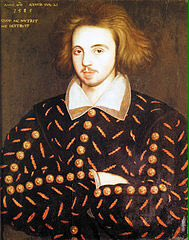 #ChristopherMarlowe inspiring playwright.Lived local+wrked at The Theatre & The Curtain #Shoreditch #Shakespeare16 https://t.co/VoSOBc3spW