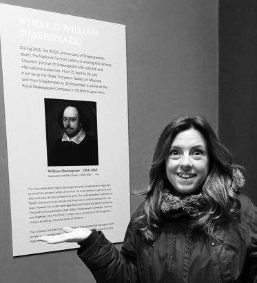 #Shakespeare16 was hoping for selfie with the man himself @NPGLondon but he's on holiday in Moscow! #Shakespeare400 https://t.co/rakHqhSOej