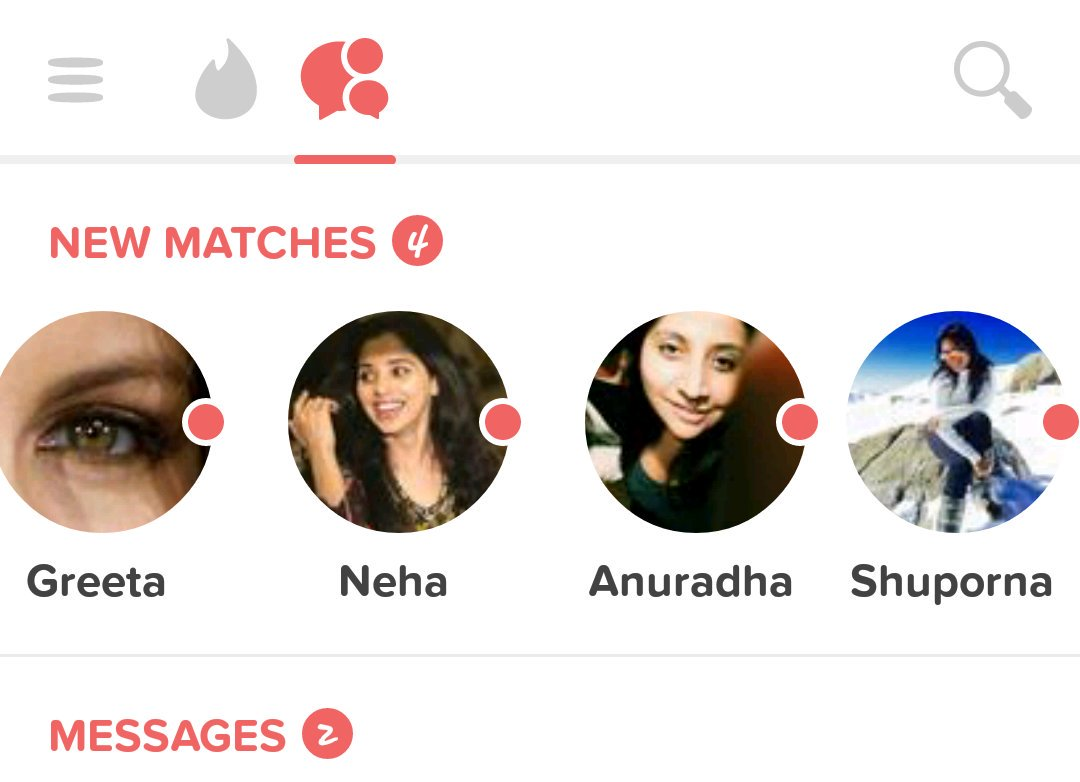 Indian girls on tinder