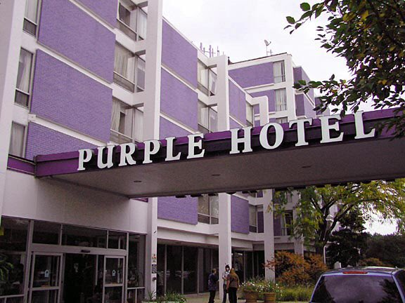 the purple hotel also known as the hyatt house hotel was a hotel located at 4500 west touhy avenue in lincolnwoodpictwittercomqgbwawrsi7 - Purple Hotel 2016