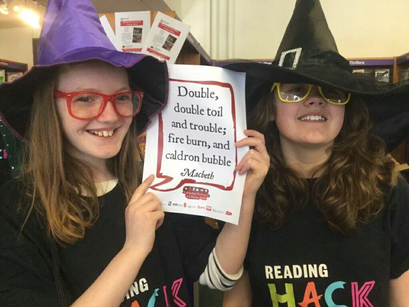 Big thanks #Skipton Reading Hacks @theteamketchup 4 live tweets! #Shakespeare16 #Shakepeare400 cc @readingagency https://t.co/EiMsKx6i0v