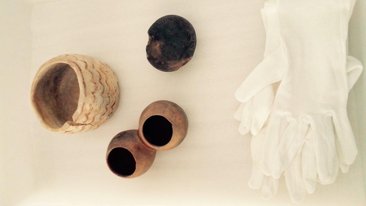 Estas piezas arqueológicas de la sociedad de #LosMillares serán las que digitalicemos mañana en #3D a las 10:30 h. https://t.co/QR5YDFkNpA