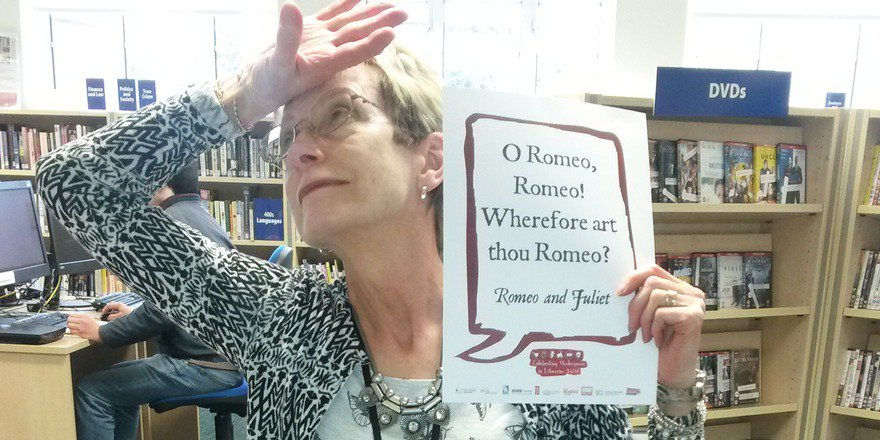 Pauline from #Twickenham Library returns with another quote from the Bard as part of #shakespeare16 https://t.co/YyGg9OB9x7