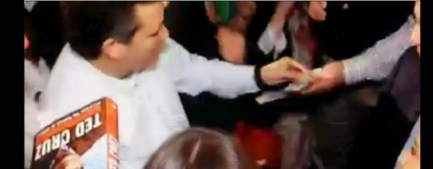 "Ted Cruz ""bribe"" of delegate video is actually a staffer"