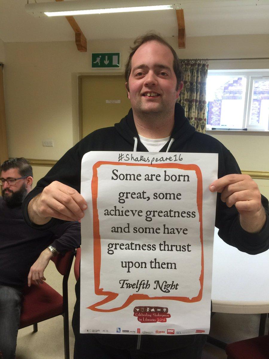 #shakespeare16 @OutreachWest1 https://t.co/tOIcGEXwkG