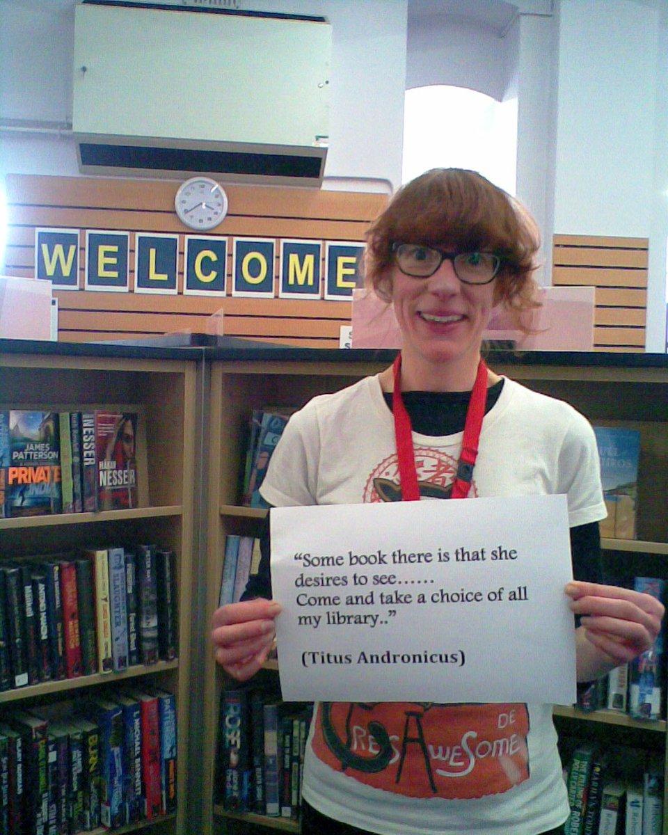...more #Shakespeare16 Selfies @ Banbury Library! @Oxonlibraries @TillyNera @jannamar58 @banburynews https://t.co/wJN0d93Gxm