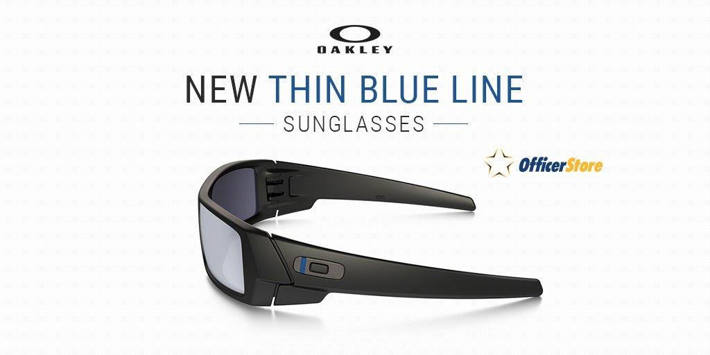 Oakley Sunglasses Thin Blue Line